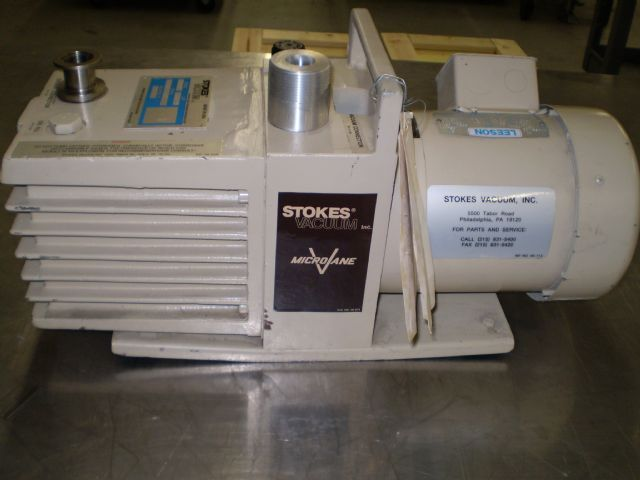 Stokes 005-2 - Vacuum pump repair and Sales