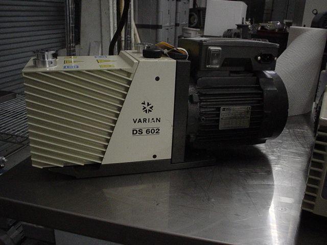 Varian DS602 - Vacuum pump repair and Sales