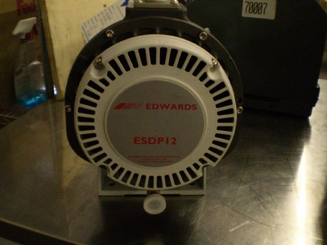 Edwards ESDP12 - Vacuum pump repair and Sales