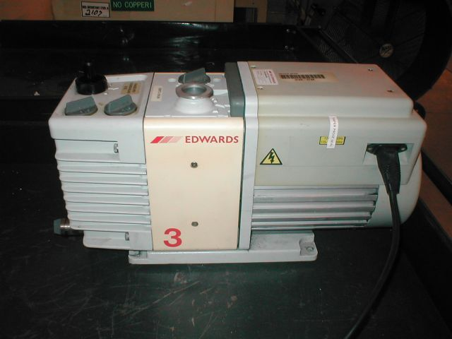 Edwards RV3 - Vacuum pump repair and Sales