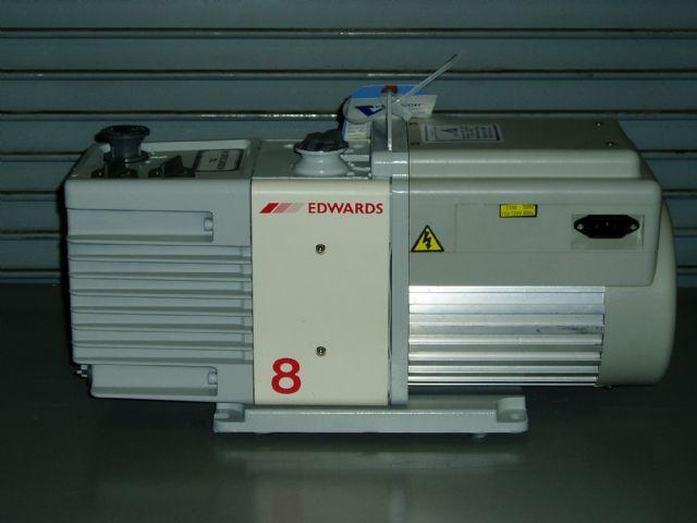 Edwards RV8 - Vacuum pump repair and Sales