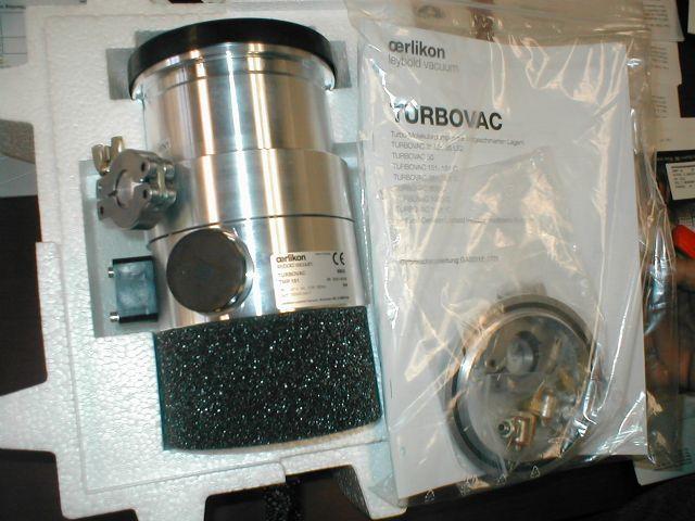 Leybold TMP151 - Vacuum pump repair and Sales