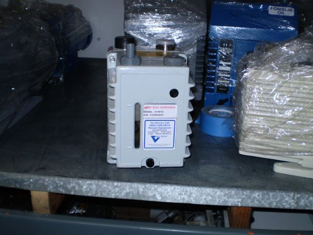 Edwards E1M18 - Vacuum pump repair and Sales
