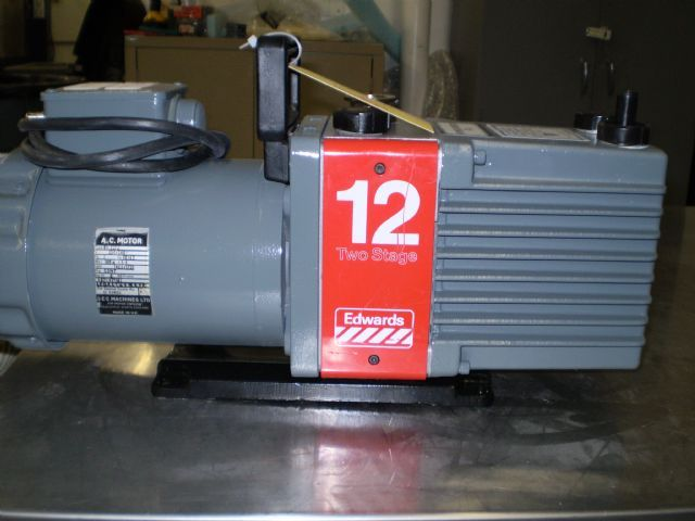Edwards E2M12 - Vacuum pump repair and Sales