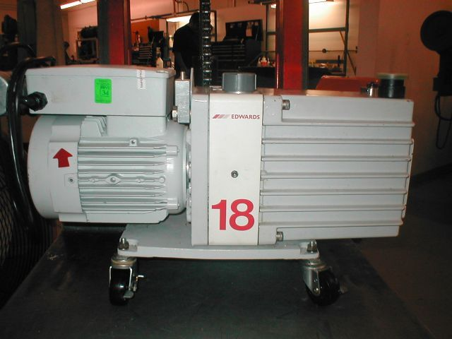 Edwards E2M18 - Vacuum pump repair and Sales