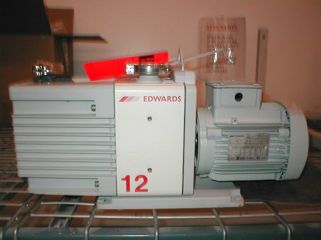 Edwards RV12 - Vacuum pump repair and Sales